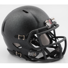 Ohio State Buckeyes Flat Canon Gray Riddell Speed Mini Football Helmet