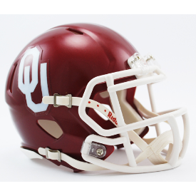 Oklahoma Sooners Riddell Speed Mini Football Helmet