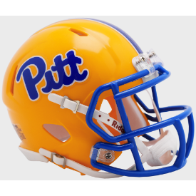 Pittsburgh Panthers Gold 2019 Riddell Speed Mini Football Helmet