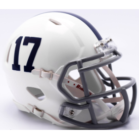Penn State Nittany Lions Throwback Riddell Speed Mini Football Helmet