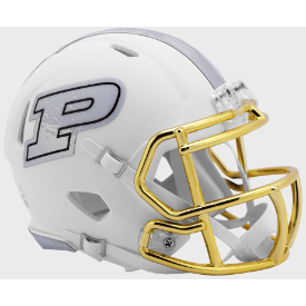 Purdue Boilermakers Moon Walk Riddell Revolution Speed Mini Football Helmet
