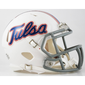 Tulsa Golden Hurricanes Riddell Speed Mini Football Helmet