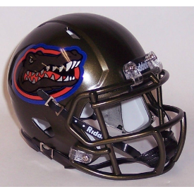 Florida Gators Swamp Green Riddell Speed Mini Football Helmet