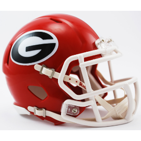 Georgia Bulldogs Riddell Speed Mini Football Helmet