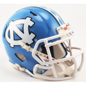 North Carolina Tar Heels Riddell Speed Mini Football Helmet