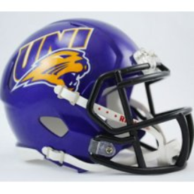 Northern Iowa Panthers Riddell Speed Mini Football Helmet
