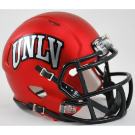 UNLV Runnin' Rebels Satin Red Riddell Speed Mini Football Helmet