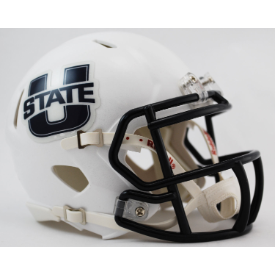 Utah State Aggies Riddell Speed Mini Football Helmet