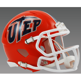 UTEP Miners Riddell Speed Mini Football Helmet