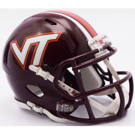 Virginia Tech Hokies Riddell Speed Mini Football Helmet