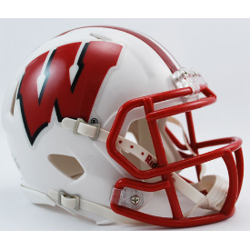Wisconsin Badgers Riddell Speed Mini Football Helmet