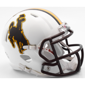 Wyoming Cowboys Riddell Speed Mini Football Helmet