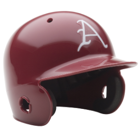 Arkansas Razorbacks Schutt Mini Batters Helmet