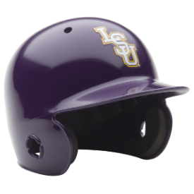 LSU Tigers Schutt Mini Batters Helmet