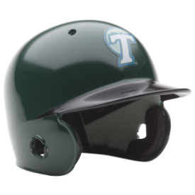 Tulane Green Wave Schutt Mini Batters Helmet