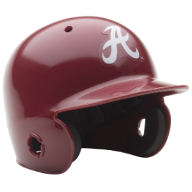 Alabama Crimson Tide Schutt Mini Batters Helmet
