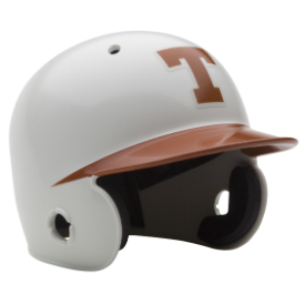 Texas Longhorns Schutt Mini Batters Helmet