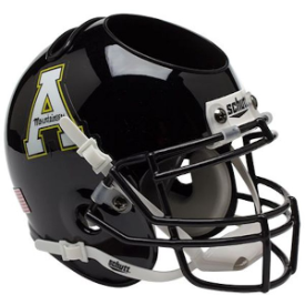Appalachian State Mountaineers Schutt Mini Football Helmet Desk Caddy