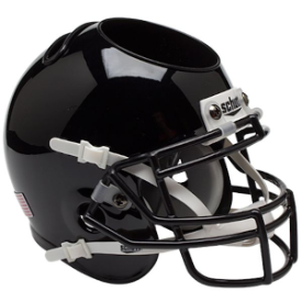 Army Black Knights Black Schutt Mini Football Helmet Desk Caddy