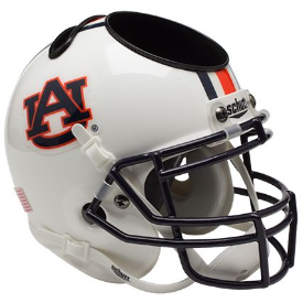 Auburn Tigers Schutt Mini Football Helmet Desk Caddy