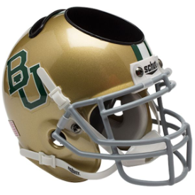 Baylor Bears Schutt Mini Football Helmet Desk Caddy