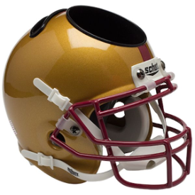 Boston College Eagles Schutt Mini Football Helmet Desk Caddy