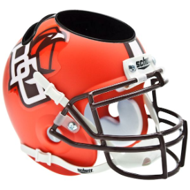 Bowling Green Falcons Schutt Mini Football Helmet Desk Caddy