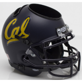 California (CAL) Golden Bears Schutt Mini Football Helmet Desk Caddy