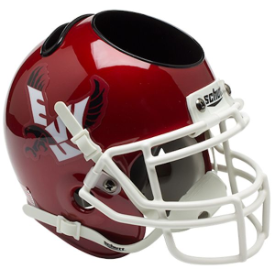 Eastern Washington Eagles Schutt Mini Football Helmet Desk Caddy