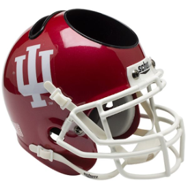 Indiana Hoosiers Schutt Mini Football Helmet Desk Caddy