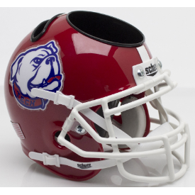 Louisiana Tech Bulldogs Bulldog Schutt Mini Football Helmet Desk Caddy