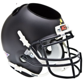 Maryland Terrapins Matte Black Schutt Mini Football Helmet Desk Caddy
