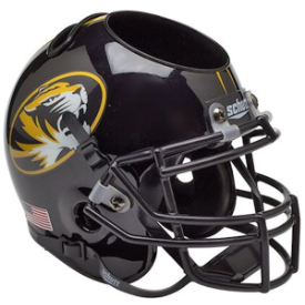 Missouri Tigers Schutt Mini Football Helmet Desk Caddy