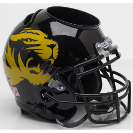 Missouri Tigers Large Tiger Schutt Mini Football Helmet Desk Caddy