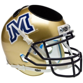 Montana State Bobcats Schutt Mini Football Helmet Desk Caddy
