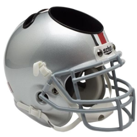 Ohio State Buckeyes Schutt Mini Football Helmet Desk Caddy