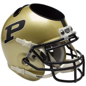 Purdue Boilermakers Schutt Mini Football Helmet Desk Caddy