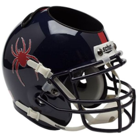 Richmond Spiders Schutt Mini Football Helmet Desk Caddy