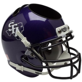 Stephen F Austin Schutt Mini Football Helmet Desk Caddy