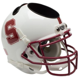 Stanford Cardinal Schutt Mini Football Helmet Desk Caddy