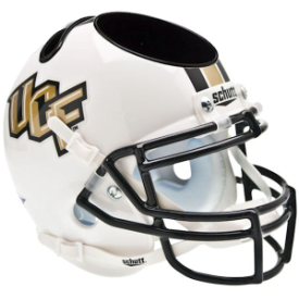 Central Florida Golden Knights Schutt Mini Football Helmet Desk Caddy