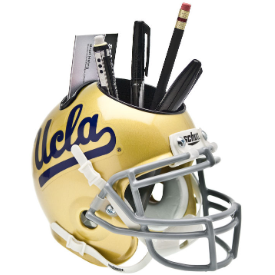 UCLA Bruins Schutt Mini Football Helmet Desk Caddy