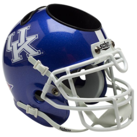 Kentucky Wildcats Schutt Mini Football Helmet Desk Caddy