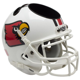 Louisville Cardinals Schutt Mini Football Helmet Desk Caddy