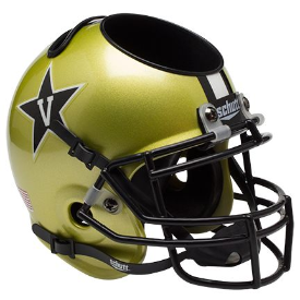 Vanderbilt Commodores Schutt Mini Football Helmet Desk Caddy