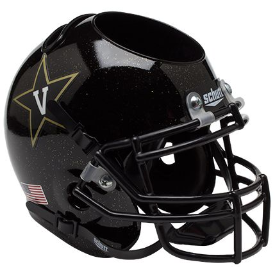 Vanderbilt Commodores Black Schutt Mini Football Helmet Desk Caddy
