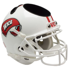 Western Kentucky Hilltoppers Schutt Mini Football Helmet Desk Caddy