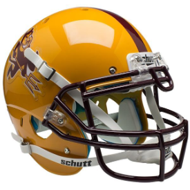 Arizona State Sun Devils Sparky Schutt XP Authentic Full Size Football Helmet