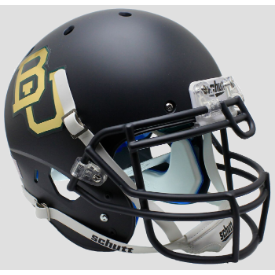Baylor Bears Matte Anthracite Schutt XP Authentic Full Size Football Helmet