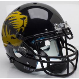 Missouri Tigers Large Tiger Alt 4 Schutt XP Authentic Full Size Football Helmet